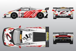 The Reiter Engineering Lamborghini GT3 to be driven by Andy Lee at Miller Motorsports Park