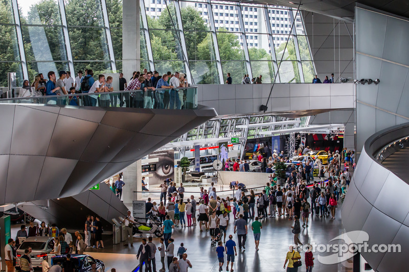 Bmw Museum Munich >> Inside Bmw Welt At Visit Of Bmw Museum Munich Automotive Photos