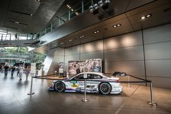 The DTM car of Martin Tomczyk, BMW Team Schnitzer BMW M4 DTM on display