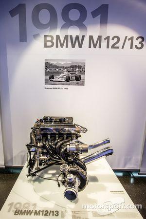 1981 BMW M12/13 Formula One motore
