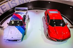 1978 BMW M1 and 2008 BMW M1 Hommage