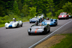Mid-Century sports & racing cars formation lap