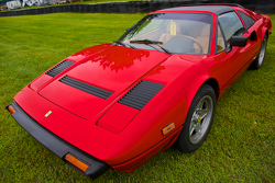 Sunday in the Park Concours with a Ferrari 308