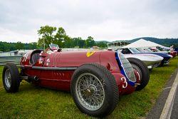 Sunday in the Park Concours met een 1931 Alfa Romeo Tipo B P3