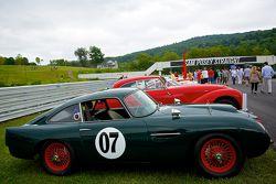 周日的竞赛公园,一辆1959的阿斯顿·马丁DB4 GT