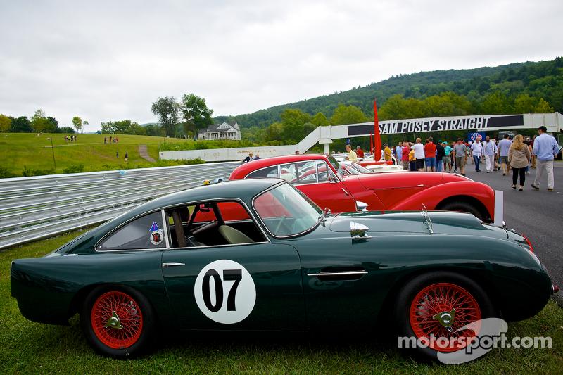 Sunday in the Park Concours con una  Aston Martin DB4 GT 1959