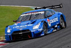 #12 Team Impul Nissan GT-R: Hironobu Yasuda, Joao Paulo de Oliveira