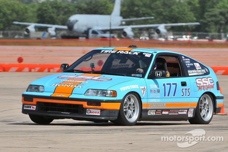 #177 Honda CRX Si: Ian Baker