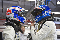 Марк Либ и Фредерик Маковецки. Тесты Porsche 919 Hybrid, тесты.