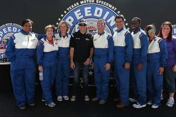 Matt Kenseth, Joe Gibbs Racing Toyota visite le Texas Motor Speedway