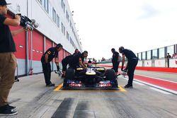 Max Verstappen Scuderia Toro Rosso testinde