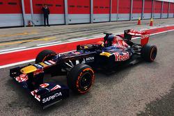 Max Verstappen, Scuderia Toro Rosso, Testfahrer