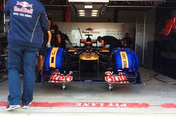 Max Verstappen tests for Scuderia Toro Rosso