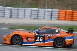 #16 Nova Race Ginetta G50 GT4: Luca Magnoni, Luis Scarpaccio, Fabio Ghizzi, Matteo Cressoni, Salvado
