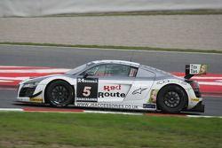 #5 Simpson Motorsport Audi R8 LMS GT3: Peter Cook, Frank Pelle, Alain Ferté, Philippe Illiano