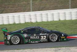 #32 Kessel Racing Ferrari 458 Italia GT3: Jonathan Sicart, Nicolas Cadei, Giacomo Piccini, Frederic Delpit, Dimitri Enjalbert