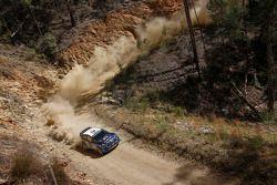 Mikko Hirvonen e Jarmo Lehtinen, M-Sport Ford Fiesta WRC