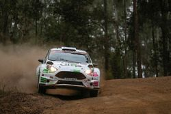 Jourdan Serderidis et Frederic Miclotte, Ford Fiesta R5