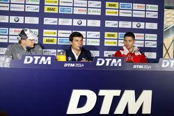 Vitaly Petrov, Mercedes AMG DTM-Team Mücke DTM Mercedes AMG C-Coupé, Bruno Spengler, BMW Team Schnit