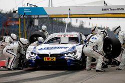 Pit stop Maxime Martin, BMW Team RMG BMW M4 DTM