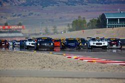 Départ de la course GT