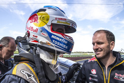 Pole position Jamie Whincup et Paul Dumbrell, Red Bull Holden