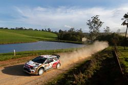 Mads Ostberg e Jonas Andersson, Citroën DS3 WRC, a Citroën Total de Abu Dhabi World Rally Team