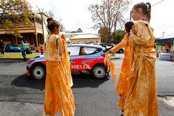 Rally Australia atmosfera