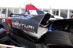 Se estrelló el coche de Nick Heidfeld