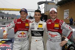 Pole position Pascal Wehrlein, 2ème Mattias Ekström, 3ème Jamie Green