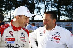 Kris Meeke et Yves Matton