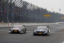 Timo Scheider, Audi Sport Team Phoenix Audi RS 5 DTM e Christian Vietoris, Mercedes AMG DTM-Team HWA