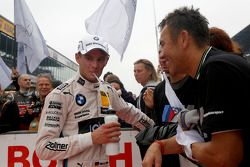 Champion 2014, Marco Wittmann, BMW Team RMG BMW M4 DTM with his father