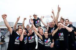 Champion 2014, Marco Wittmann, BMW Team RMG BMW M4 DTM celebrates