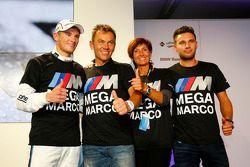 Champion 2014, Marco Wittmann, BMW Team RMG BMW M4 DTM celebrates