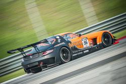 #96 Mike Racing Mercedes SLS AMG GT3: Bjorn Wirdheim, Michael Chua