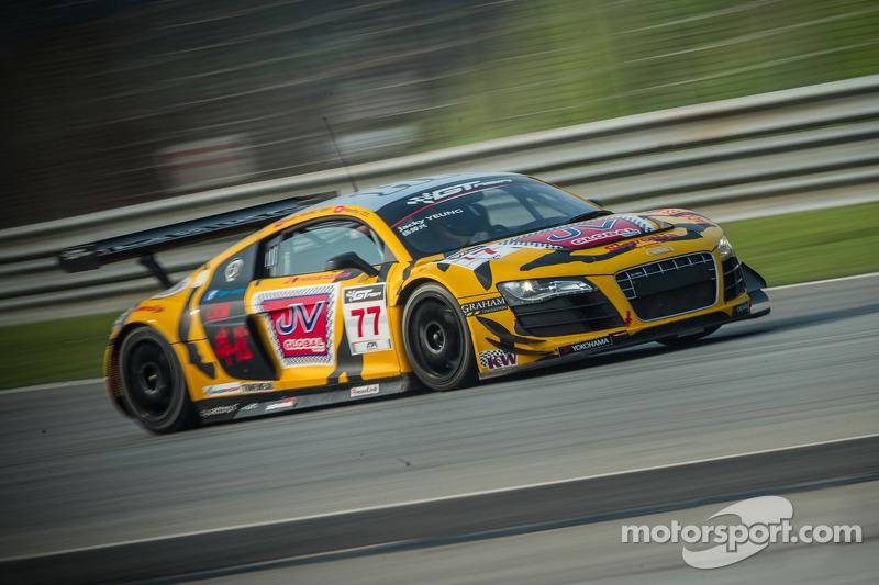 #77 Tiger Racing 奥迪 R8 LMS GT3: 杨焯兴, 李英健