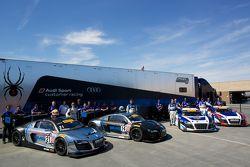 Audi customer racing groepsfoto