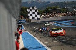#55 AF Corse Ferrari F458 Italia: Duncan Cameron, Matt Griffin, Michele Rugolo takes the win