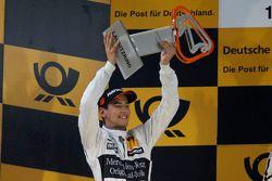 Podium: 2ème Christian Vietoris, Mercedes AMG DTM-Team HWA DTM Mercedes AMG C-Coupé