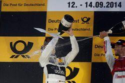 Podium: 2. Christian Vietoris, Mercedes AMG DTM-Team HWA, DTM Mercedes AMG C-Coupé