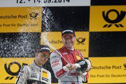 Podium: third place Timo Scheider, Audi Sport Team Phoenix Audi RS 5 DTM