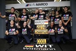2014赛季DTM冠军宝马RMG车队驾驶宝马M4 DTM的马克·魏特曼