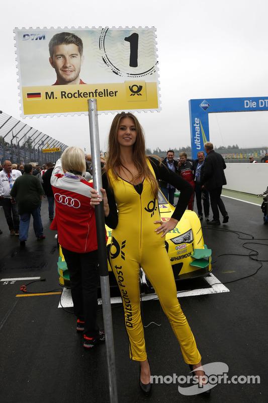 Grid girl de Mike Rockenfeller, Audi Sport Team Phoenix Audi RS 5 DTM