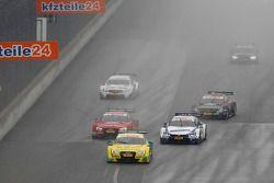Mike Rockenfeller, Audi Sport Team Phoenix Audi RS 5 DTM, Miguel Molina, Audi Sport Team Abt Audi RS 5 DTM, Maxime Martin, BMW Team RMG BMW M4 DTM