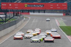 Ferrari Challenge Coppa Shell Race Start