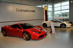 Ferrari Enzo, F50 and F40