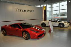 Ferrari Enzo, F50 et F40