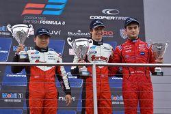 领奖台: Martin Cao, Matt Rao,和Cameron Kaminsky