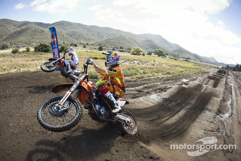 Marvin Musquin and Ryan Dungey